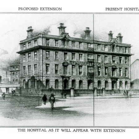 Proposed extension of St Mark's Hospital